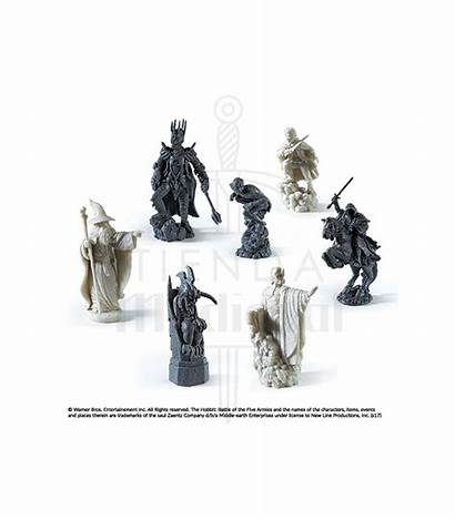 Lord Rings Chess Battle Earth Scacchi Signore