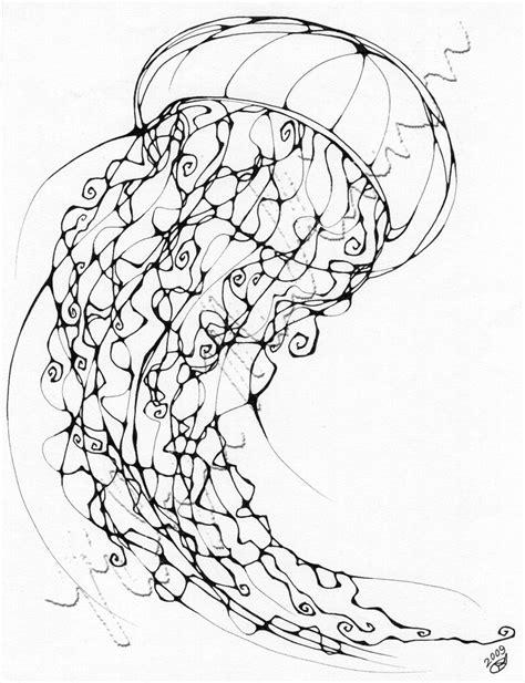 inkblot jellyfish  chimeradreams  deviantart
