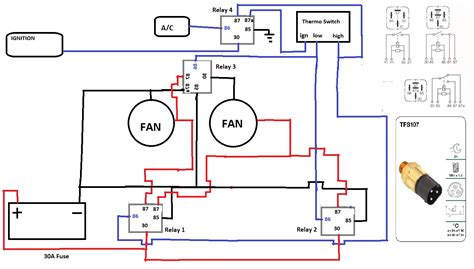 thermofan wiring diagram auto electrics ozfalcon