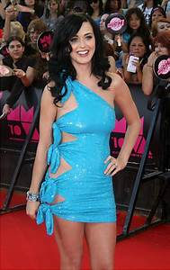Katy Perry - Photos - Slice and dice fashion: Cut-out ...