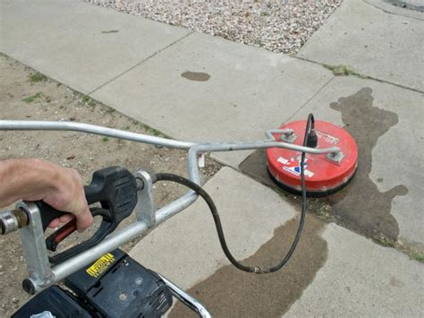 how to clean brick and concrete with a pressure washer diy