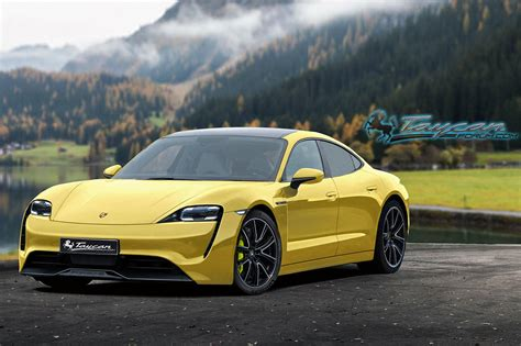Will The Porsche Taycan Look Like This?   CarBuzz