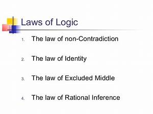 The Laws Of Logic Explained  Law  1 The Law Of Identity