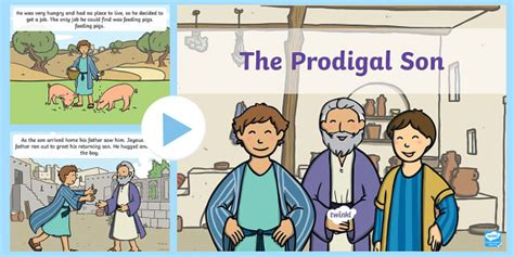 the prodigal story powerpoint the prodigal the 892   T T 5368 The Prodigal Son Story Powerpoint ver 1