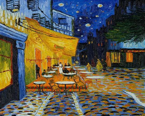 gogh cafe terrace at gogh caf 233 terrace at wallpapers wallpaper cave