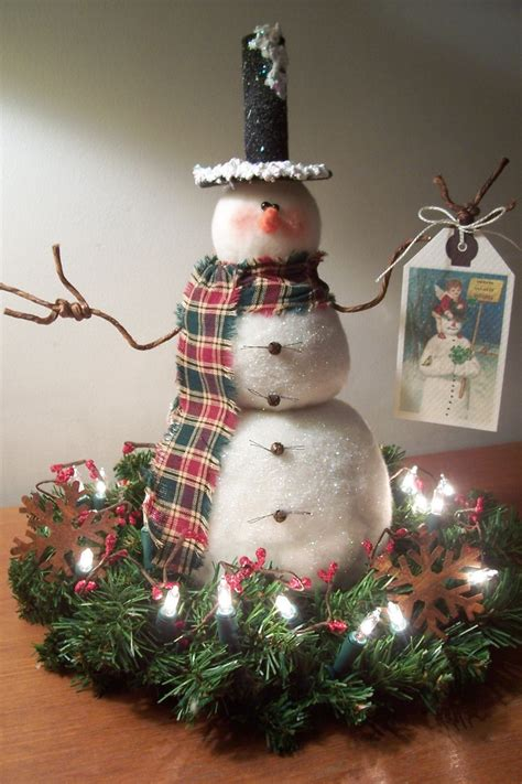images  snowman decorations  pinterest