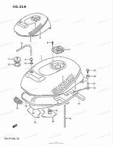 Suzuki Motorcycle 1990 Oem Parts Diagram For Fuel Tank
