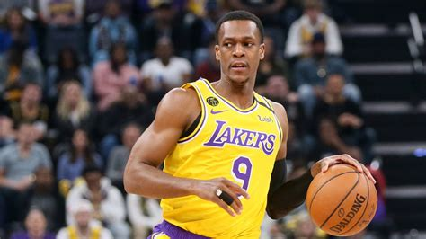 Rajon Rondo a late scratch for Lakers due to back spasms ...