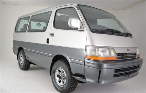 Toyota hiace combines legendary durability, unrivalled reliability and a punchy, responsive drive. Must Not Look: 1991 Toyota HiAce 4WD