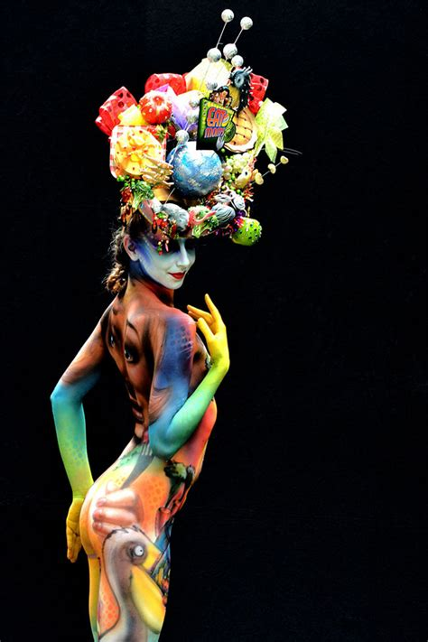 Stunning Body Art Unveiled At The 16th World Bodypainting Festival - DesignTAXI.com