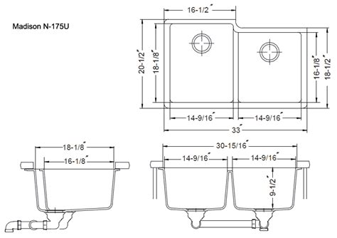 double kitchen sink dimensions standard size kitchen sink kitchen sinks dimensions