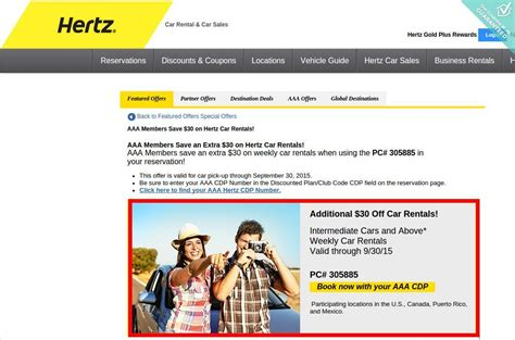 20224 Hertz Promotional Coupon Code by Hertz Coupons Promotional Codes Couponcabin
