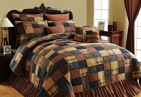 patriotic patch twin queen cal king quilt american red