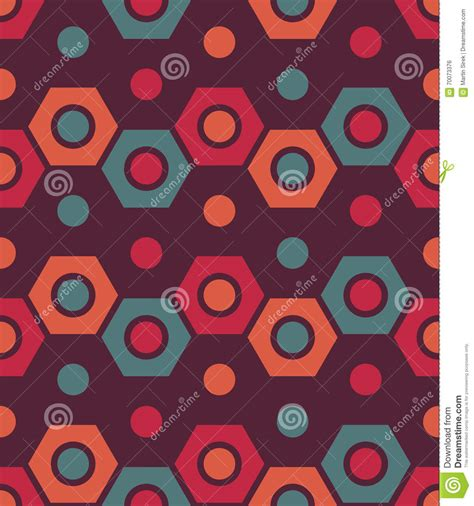 vector modern seamless colorful geometry pattern color