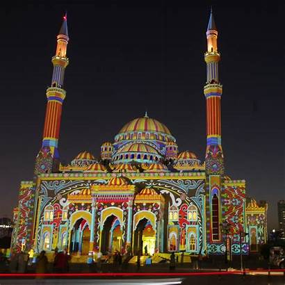 Noor Al Mosque Sharjah Arab Emirates United