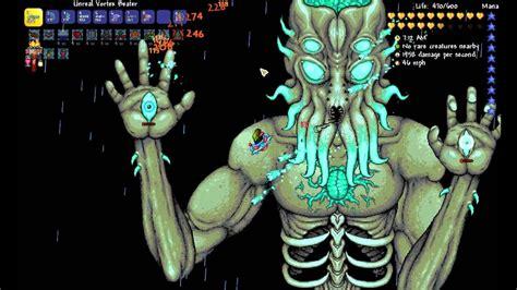 terraria  expert moon lord kill ranger youtube