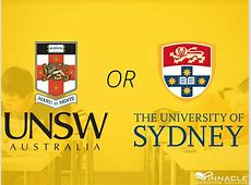 USYD or UNSW? Which one's better? How do I pick? Should I