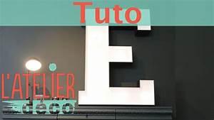 Lettre Lumineuse Deco : une lettre lumineuse latelier d co ~ Teatrodelosmanantiales.com Idées de Décoration