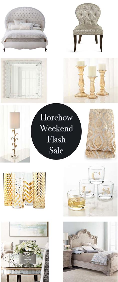 2018 Horchow Weekend Flash Sale 50% Off Furniture, Home