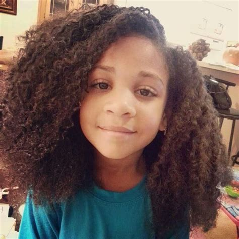 Kid Hairstyles For Curly Hair by Afro Kid Hairstyle