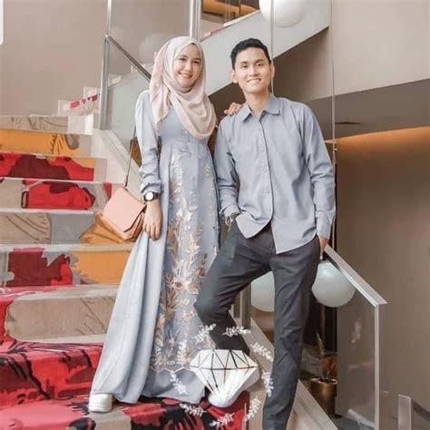 Merupakan pelopor baju kemeja pria lengan. 37 Design Baju Pengantin Muslim Couple   Ragam Muslim