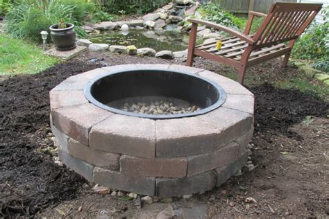 How To Turn On Gas Fireplace by How Much Does It Cost To Install A Fire Pit Angies List