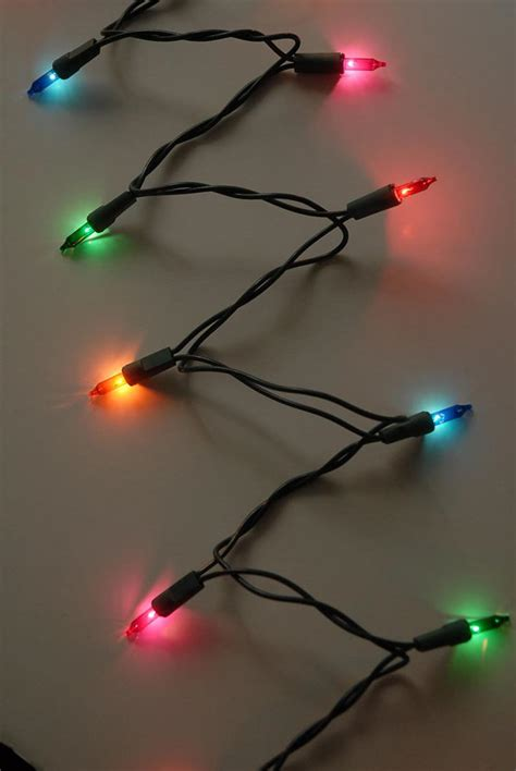 multicolor mini string lights 35 ct 12 ft green cord discount