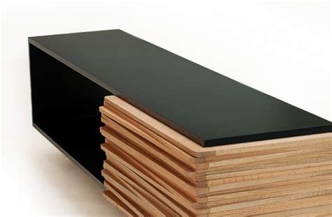 modern designer wooden sideboard stack buffet