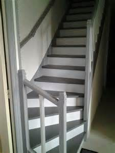 Peindre Un Escalier En Blanc by 17 Meilleures Id 233 Es 224 Propos De Escaliers Peints Sur
