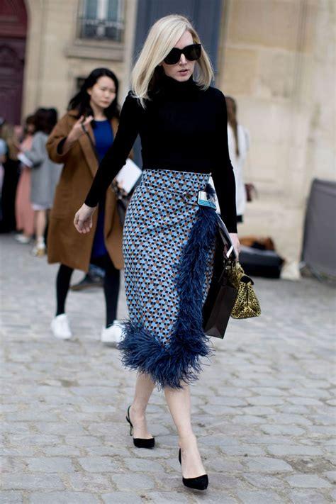 The Best Street Style At Paris Fashion Week Autumn Winter