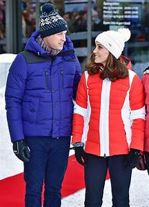 Prince William and Kate Middleton Are Snow Bunnies in ...