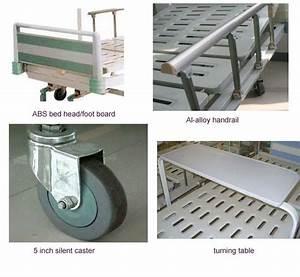 No Noise Folding Turning Table 2 Crank Medical Hospital