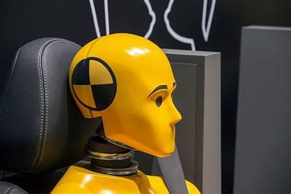 Dummy Crash Test Yellow Dummies Vehicle Safety
