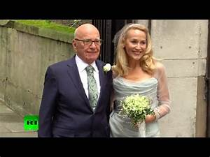 Rupert Murdoch-Jerry Hall wedding & the Who's Who of Power ...
