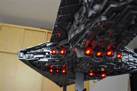 legosaurus lego star wars executor super star destroyer
