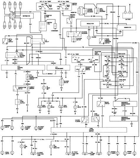 1971 72 cadillac wiring diagrams circuit diagram world