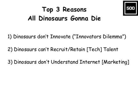 Top Three Reasons Why Dino Top 3 Reasons All Dinosaurs