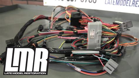mustang wiring harnesses engine conversion restoration