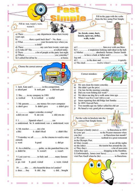 Present Tense Progressive Exercises  Takvim Kalender Hd