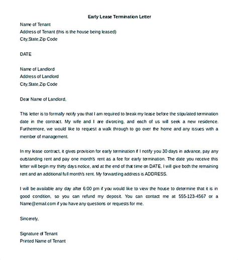 contract termination letter examples  google