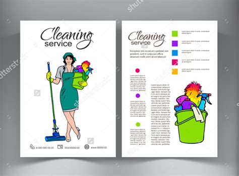 Cleaning Flyers Templates Costumepartyrun