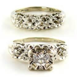 1950s wedding rings 5 gorgeous vintage engagement rings rustic folk weddings