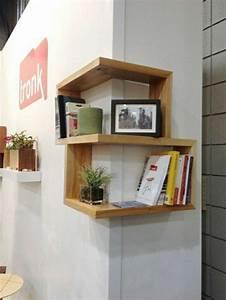 Etagere Murale En Bois : etagere murale bois clair ~ Dailycaller-alerts.com Idées de Décoration