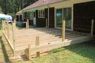 How To Build Stairs On A Deck by New Deck Builder Morristown Nj Monk S