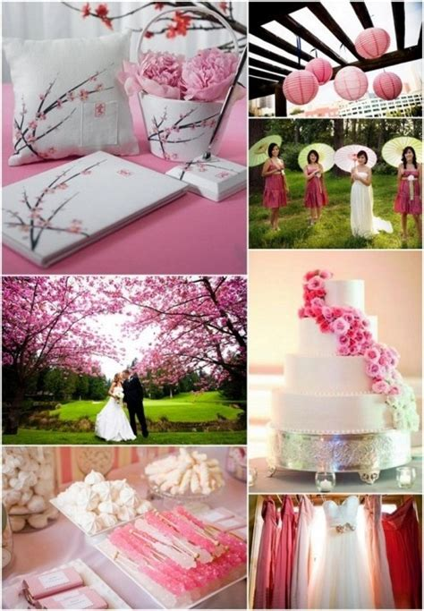 Cherry Blossoms Wedding Theme Idea Wedding ideas Pinterest