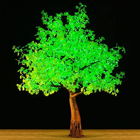 LED Light Ginkgo Artificial Tree