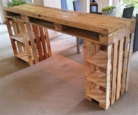 Tisch Aus Palettenholz by Dj Pult Aus Paletten Tresen Tisch Palettery Palettery De
