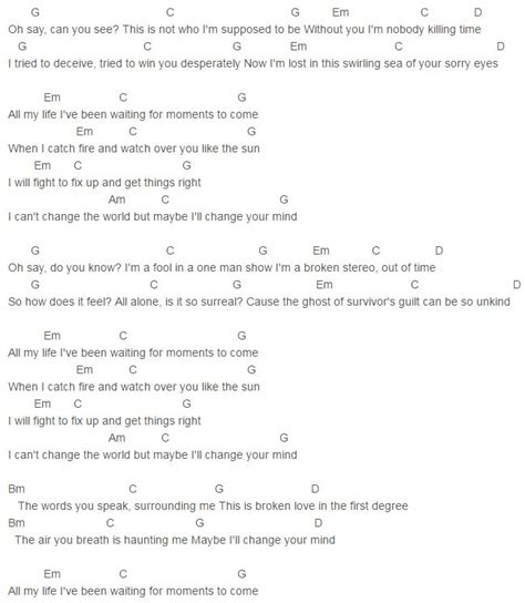 Fine Guitar Chords Im Yours Adornment - Basic Guitar Chords For ...