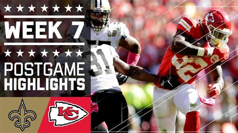 saints  chiefs nfl week  game highlights youtube
