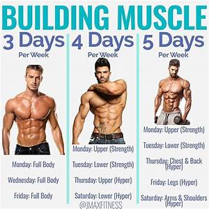 8 Powerful Muscle Building Gym Training Splits
